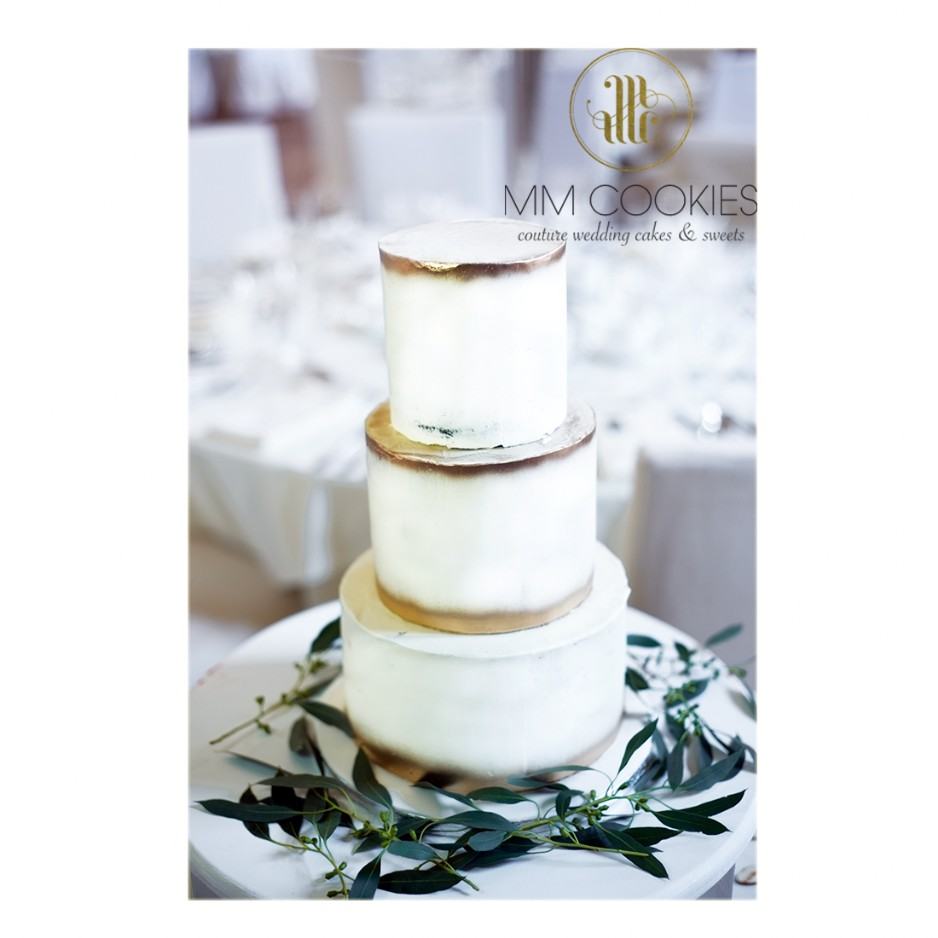 Buttercream Finish Wedding Cake