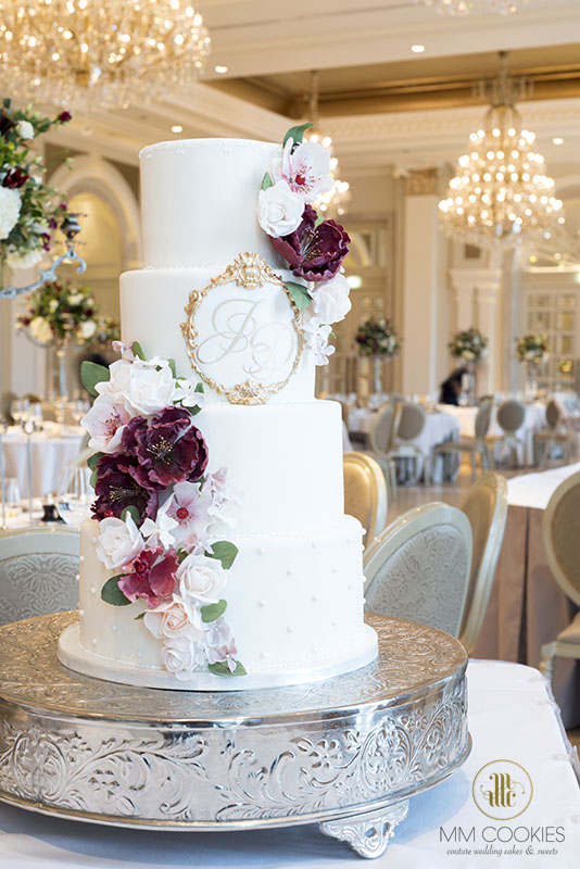 Adare Manor Ballroom Wedding Cake
